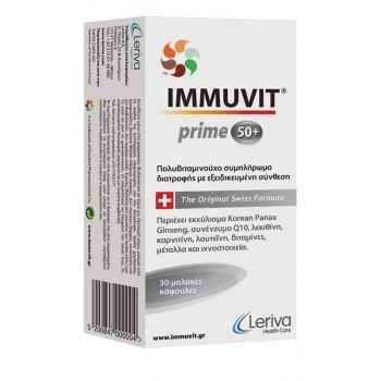 Leriva Immuvit Prime 50+ 30 caps