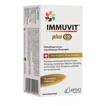 Leriva Immuvit Plus Q10 30 caps