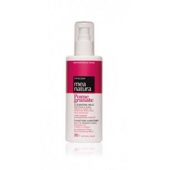 MEA NATURA Pomegranate Γαλάκτωμα Καθαρισμού 3 σε 1 Πρόσωπο & Μάτια 250 ml Καθαρισμός