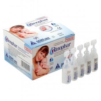 Rinophar 30 αμπούλες x 5ml Αποστειρωμένος Φυσιολογικός Ορός Βρεφικά