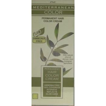 Mediterranean Color Μόνιμη Βαφή Μαλλιών 5/1 Καστανό Ανοικτό Σαντρέ 60 ml