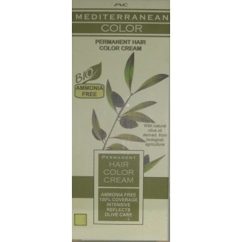 Mediterranean Color Μόνιμη Βαφή Μαλλιών 5/0 Καστανό Ανοικτό Φυσικό 60 ml