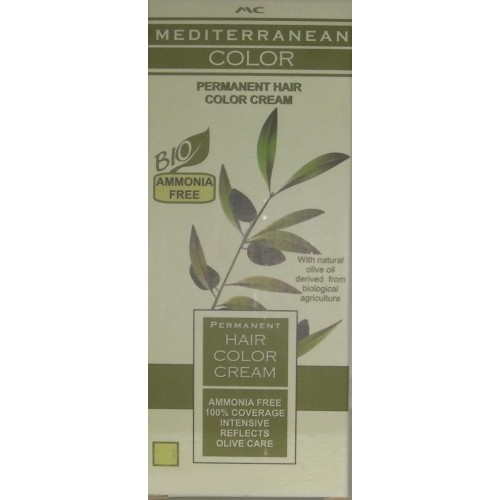 Mediterranean Color Μόνιμη Βαφή Μαλλιών 7/38 Ξανθό Κακάο 60 ml