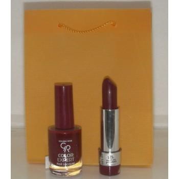 Golden Rose Σετ Δώρου Βερνίκι Color Expert No 29 + Lipstick 2000 No 119 Δαμασκηνί