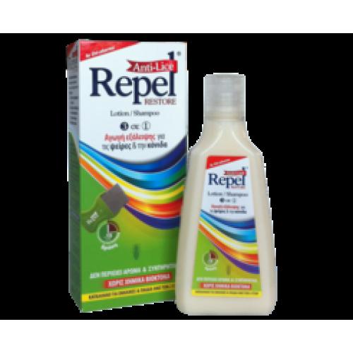 Repel Anti-Lice Restore Αντιφθειρικό Σαμπουάν 200 ml Αντιφθειρικά