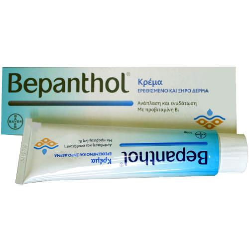 Bepanthol Κρέμα για Ερεθισμένο και Ξηρό Δέρμα 100 gr Σώμα