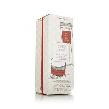 Korres Σετ Δώρου Wild Rose Head-To-Toe Collection 235 ml+40 ml Σώμα