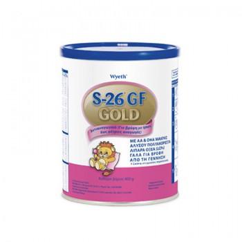 S-26 - Gf Gold, Αντι-αναγωγικό γάλα για βρέφη 400g Βρεφικά