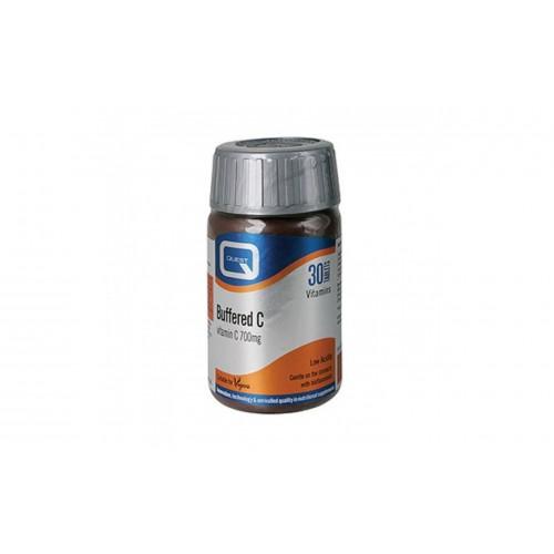 Quest Buffered Vitamin C 700 mg 30 tabs