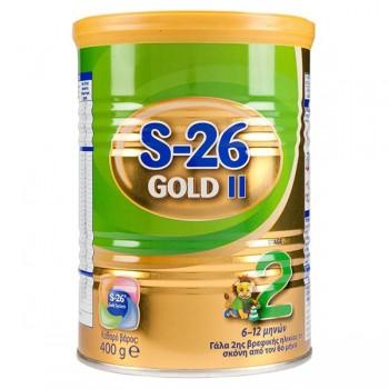 S-26 - Gold No2 Βρεφικό Γάλα Σε Σκόνη Για Βρέφη 6-12 Μηνών 400g Βρεφικά