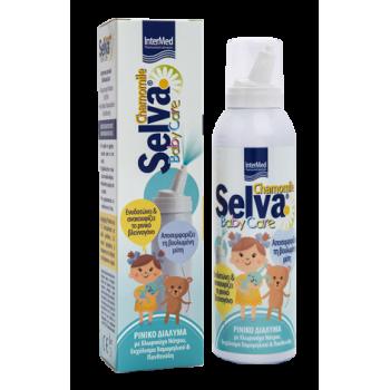Intermed Selva Baby Care Ισότονο Ρινικό Διάλυμα με Χαμομήλι 150 ml