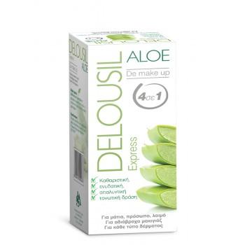 Delousil Aloe Express De Make Up Ατομικά Μαντηλάκια 12 τμχ.