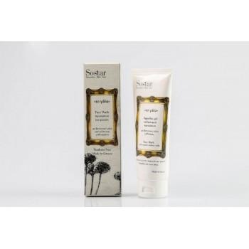 Sostar Αφρώδες Τζελ Καθαρισμού Προσώπου με Βιολογικό Γάλα Γαϊδούρας 150 ml