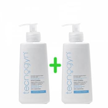 Tecnogyn Intima Wash Καθαριστικό για την Ευαίσθητη Περιοχή 200 ml 1+1 Δώρο