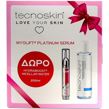 Tecnoskin Myolift Platinum Serum 15 ml + Δώρο Hydraboost Micellar Water 200 ml