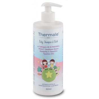 Thermale Med Baby Shampoo & Bath 500ml