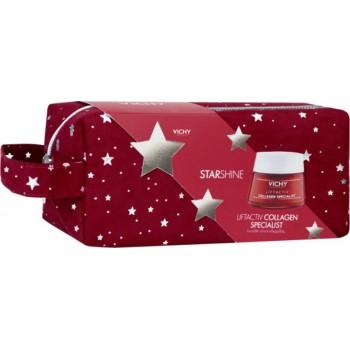 Vichy Promo Starshine Liftactiv Collagen Specialist 50 ml Αντιγηραντική Κρέμα Προσώπου 50 ml + Δώρο Νεσεσέρ