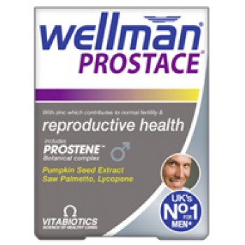 Vitabiotics Wellman Prostace 60's για την υγεία του προστάτη